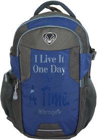 VERAGE Laptop Backpack For Men  Women (Navy Blue)
