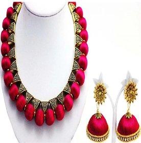 Queen's Love silk thread jewellery