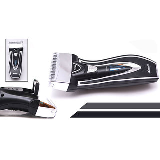 Kemei 2 Blade Professional Rechargeable Electric Shaver  Trimmer for man