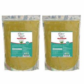 Way2Herbal Mehandi powder - 1 kg Value Pack of 2