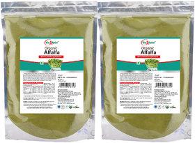 Way2Herbal Alfalfa 1 kg Powder Value Pack of 2