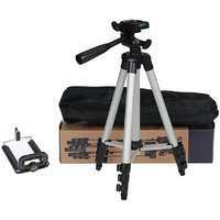 3110 Portable and Foldable Camera   Tripod with Mobile
