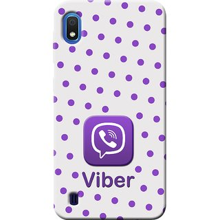 Cellmate Viber Digital UV Printed Designer Soft Silicone Mobile Back Case Cover For Samsung Galaxy A10
