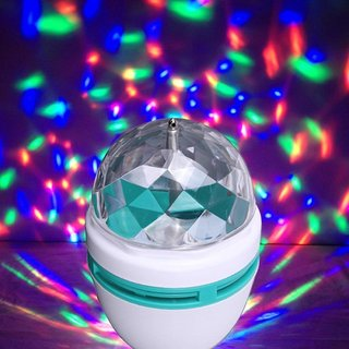Disco lights decorative led bulb with 360 degree auto Rotating function.