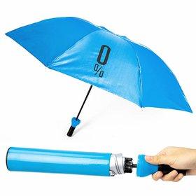 Caviors Stylish Umbrella Folding Plastic Wine Bottle Deco Umbrella (Blue)