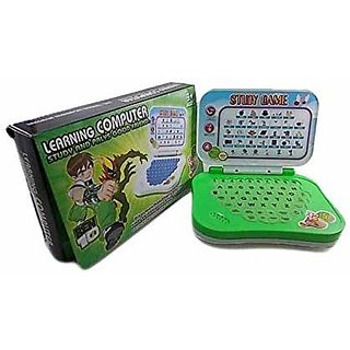 VEEJEE Ben10 Educational Set Mini Toy Laptop Computer for Kids.