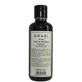 Khadi Herbal Amla Bhringraj Shampoo - 210ml