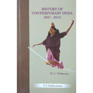 History of Contemporary India (Useful for Civil Services, UPSC, TNPSC and other Competitive Examinations) Paperback Pr