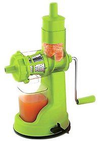 Vittamix Deluxe Green Fruit And Vegetable Juicer With Steel Handle