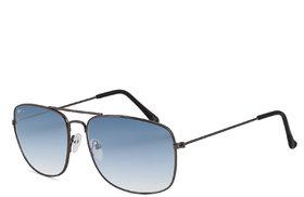 Royal Son Retro Square Sunglasses For Men Women Stylish - (Green Unisex Latest Aviator Goggles)
