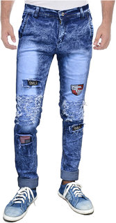 Indiforce Men Comfort Fit Blue Jeans