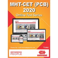 MHT CET PCB 2020 Online Test Series (Basic Pack) as per NTA Pattern  Revised MHT-CET Syllabus (11th 20  12th 80) (