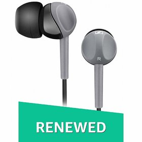 (Renewed) Sennheiser CX 180 Street II in-Ear Headphone (Black)