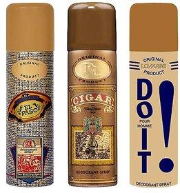 Set of 3 Deos -EL Paso , Cigar , Do It Deodrants