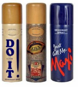 Set of 3 Deos -Do It , El Paso , Maxi body deodrants