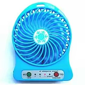 shopeleven High Speed Portable fan rechargeable USB Ventilator Desk Mini Fan Handheld travel Below