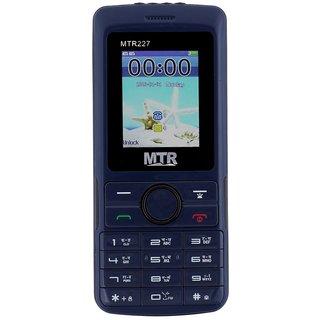 MTR MTR227 DUAL SIM, 800 MAH BATTERY, CAMERA, BLUETOOTH, BIG SOUND, FM MULTIMEDIA MOBILE PHONE
