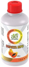 AE Naturals Papaya Ripe Fragrence Oil For Hand Made Soaps  cosmetics  100ml