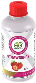AE Naturals Strawberry Fragrence Oil For Hand Made Soaps  cosmetics  100ml