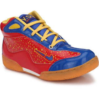 VSS Mens BLUE Synthetic Leather Basketball Shoes