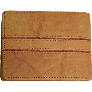 Nohunt Men Wallet Slim Front Pocket Card Holders 2 Compartments 2 pockets 3 card slots and 1 Bi-Fold Anniversary Birthday Christmas Gift Purse (Color Brown)