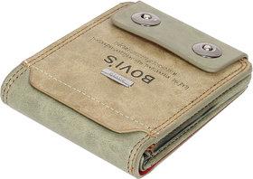 Fashion Village Multicolor Leatherite  Bi-fold Wallet for Men