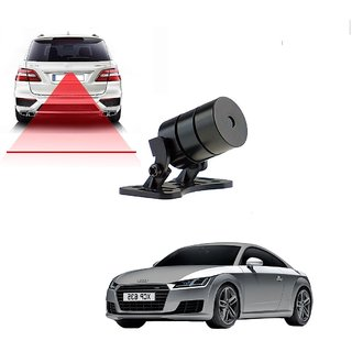 Auto Addict Car Styling Anti Collision Safety Line Led Laser Fog Lamp Brake Lamp Running Tail Light-12V Cars For Audi TT