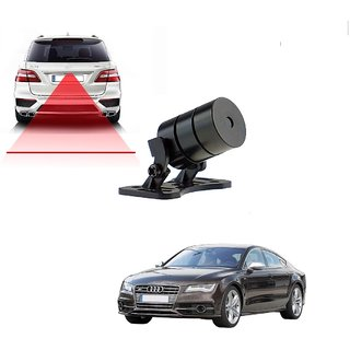 Auto Addict Car Styling Anti Collision Safety Line Led Laser Fog Lamp Brake Lamp Running Tail Light-12V Cars For Audi NA