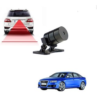 Auto Addict Car Styling Anti Collision Safety Line Led Laser Fog Lamp Brake Lamp Running Tail Light-12V Cars For Audi RS 6