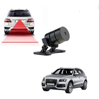 Auto Addict Car Styling Anti Collision Safety Line Led Laser Fog Lamp Brake Lamp Running Tail Light-12V Cars For Audi Q5