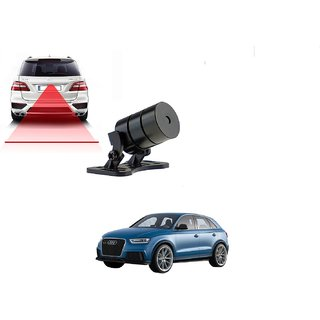 Auto Addict Car Styling Anti Collision Safety Line Led Laser Fog Lamp Brake Lamp Running Tail Light-12V Cars For Audi Q3