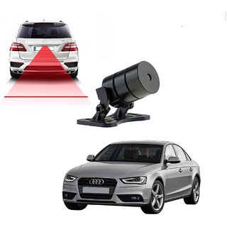 Auto Addict Car Styling Anti Collision Safety Line Led Laser Fog Lamp Brake Lamp Running Tail Light-12V Cars For Audi A4