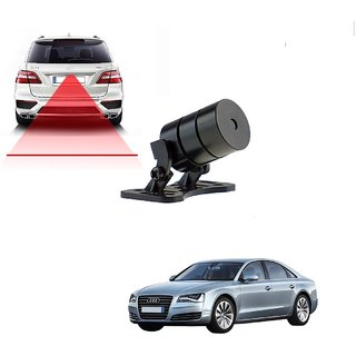 Auto Addict Car Styling Anti Collision Safety Line Led Laser Fog Lamp Brake Lamp Running Tail Light-12V Cars For Audi A8