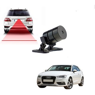 Auto Addict Car Styling Anti Collision Safety Line Led Laser Fog Lamp Brake Lamp Running Tail Light-12V Cars For Audi A3