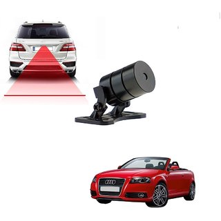 Auto Addict Car Styling Anti Collision Safety Line Led Laser Fog Lamp Brake Lamp Running Tail Light-12V Cars For Audi A3 Cabriolet