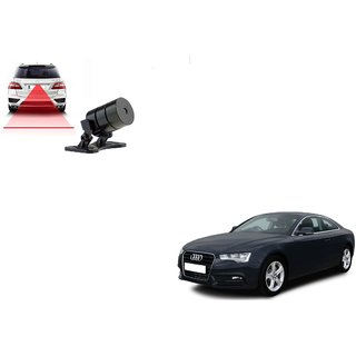 Auto Addict Car Styling Anti Collision Safety Line Led Laser Fog Lamp Brake Lamp Running Tail Light-12V Cars For Audi A5