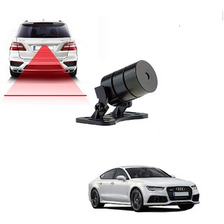 Auto Addict Car Styling Anti Collision Safety Line Led Laser Fog Lamp Brake Lamp Running Tail Light-12V Cars For Audi A7