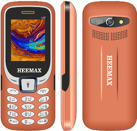 HEEMAX H7 (Dual Sim, 1.8 Inch Display, 1000 Mah Battery, 1 YEAR WARRANTY, Made In India )