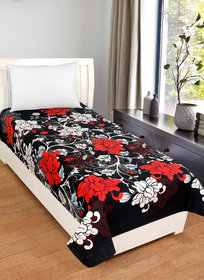 BSB Trendz 5D Single Bedsheet/Topsheet Without Pillow Cover,Size 227X152