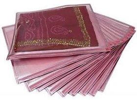Karnavati Set Of 12 Transparent Saree Covers