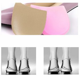 CuraFoot 1 Pair O/X Type Leg Orthopedic Support Insole Medial Lateral Heel Wedge Insoles Silicone Bow Legs Corrector (Be