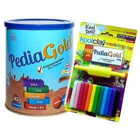 PEDIAGOLD - Complete Nutrition For Children- Premium Chocolate- 400g Tin