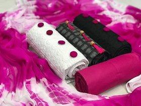 Combo Dress Materials (3 Top 1 Bottom 1 Dupatta)