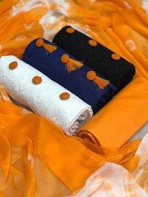 Mastani Combo DressMaterials (3 Top 1 Bottom 1 Dupatta)