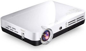 Clearex 6000 lm DLP Corded Mobiles Home Cinema Portable Projector  (White)