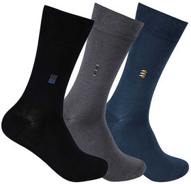 3 Pairs Full Length Socks (Assorted Color)