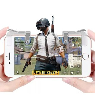NewveZ Sensitive Shoot/Aim Metal Buttons L1 R1 Trigger Mobile Game Controller for Andriod IOS Gaming Accessory Kit