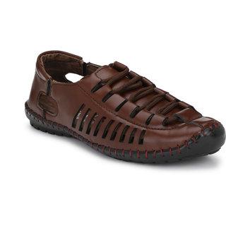 Viuuu Brown Roman Sandal
