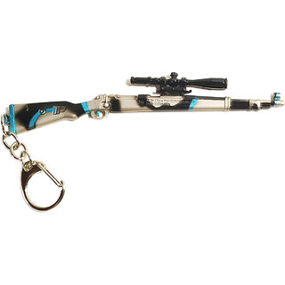 Utkarsh PUBG Players Unknown Battle Grounds Premium Metal Gun Kar98 Multicolor Stylish Car,Home,Bike,Office Keychain