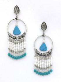 Drop Tassel Beaded Earring